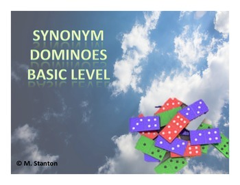 Synonym Dominoes Game - Basic Level