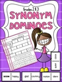 Synonym Dominoes ~ Printables & Games for Grades 2 & 3