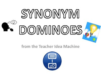 Synonym Dominoes, Part 1