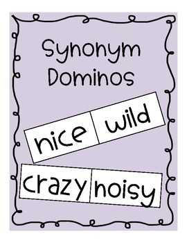 Synonym Dominos