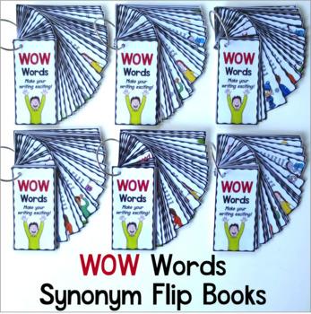 Synonym Flip Books WOW Words