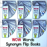 Synonyms - WOW Words Flip Books