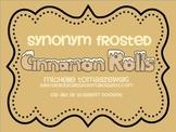 Synonym Frosted Cinnamon Rolls