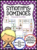 Synonym Dominoes Game