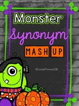 Synonym Game {Halloween Theme}