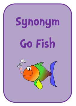 Synonym Go Fish Card Game