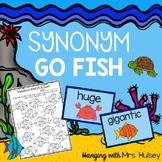Synonym Go Fish (Reading Center)