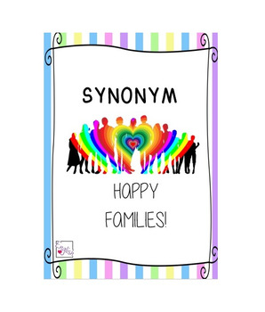 Synonym Happy Families