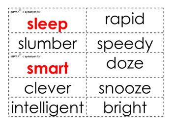 Synonym I Spy