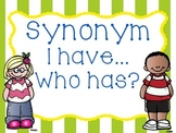 """Synonym """"I have....Who has?"""""""