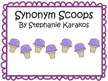 Synonym Ice Cream Scoops