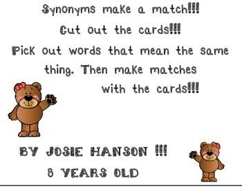 Synonym Make-A-Match