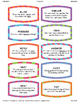 Synonym Match Cards (+context clues!) - Find Partners/Pairs Game