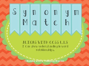 Synonym Match Center L.1.5