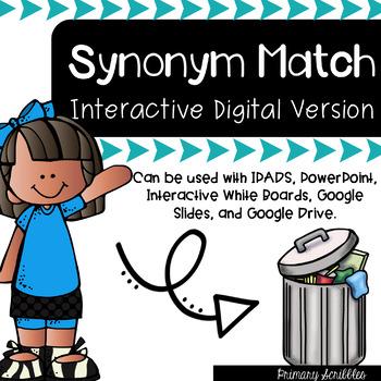 Synonym Match Digital Version