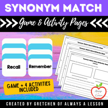 Synonym Match Game