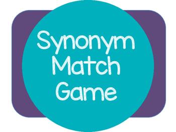 Synonym Match Game