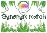 Synonym Match- Jungle Theme