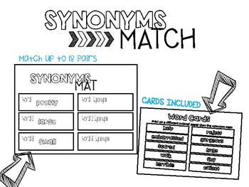 Synonym Match Up