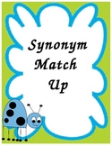 Synonym Match Up Game for Small Groups