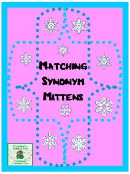 Synonym Match-the-Mitten