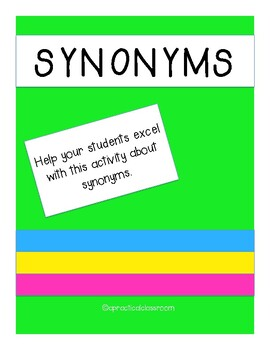 Synonym Matching