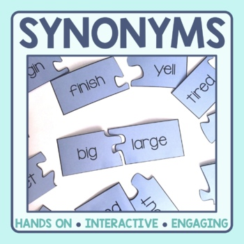 Synonym Matching Puzzles