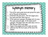 Synonym Memory
