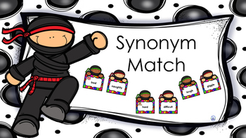 Synonym Ninja Match