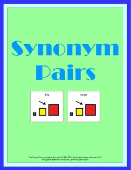 Synonym Pairs