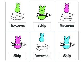 Synonym Peeps Uno-Like Game