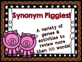 Synonym Piggies! - Activities and Games