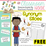 FREEBIE: Synonym Slices - A Matching Game