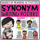Synonym Posters & Shades of Meaning Activities