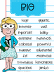 Synonym Posters for Big Kids