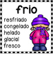 Synonym Posters in Spanish