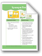 Synonym Power (File Folder Center)