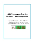 Synonym Practice with LAMP sequences -- WFL -- AAC Device