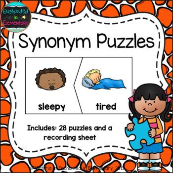 Synonym Puzzles