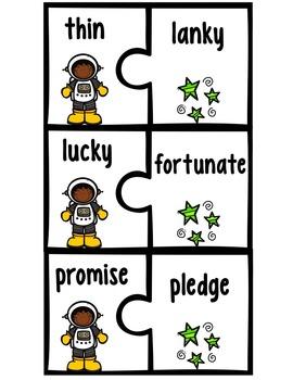 Synonym Puzzles Bundle