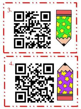 Synonym QR Code Task Card Center