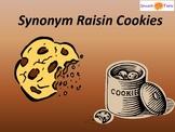 """Synonym Raisin Cookies!"""