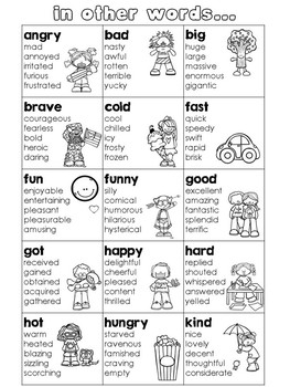 Synonym Reference Pages