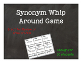 Synonym Review Game