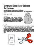 Synonym Rock Paper Scissors Battle Speech-Therapy Game