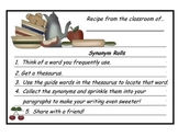 Synonym Roll Activity and Packet