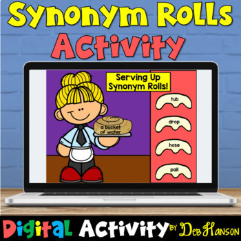 Check out this digital version of my synonym craftivity!
