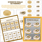 Synonym Rolls Go Fishing? Game & Activity