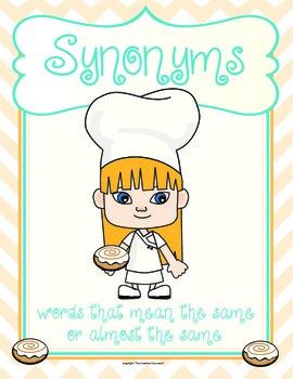 Synonym Rolls Pack
