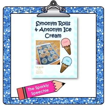Synonym Rolls and Antonym Ice Cream